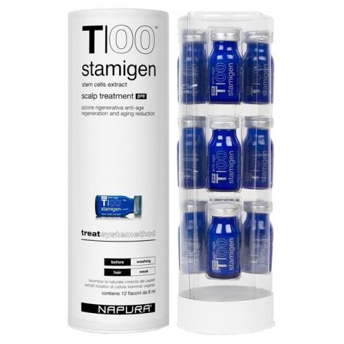 Ампули за възстановяване на фоликулите 12 бр x 8 мл Napura T/00 Stamigen Pre