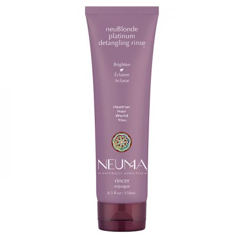 Тониращ луксозен балсам за руса коса 250 мл NEUMA NeuBlonde Platinum Detangling Rinse