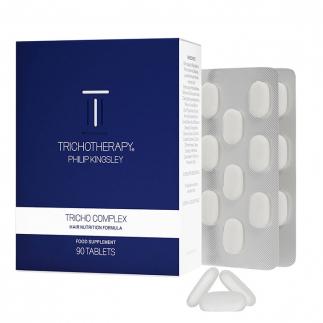 Стимулиращи хранителни добавки за растеж на косата 90 бр Philip Kingsley Tricho Complex