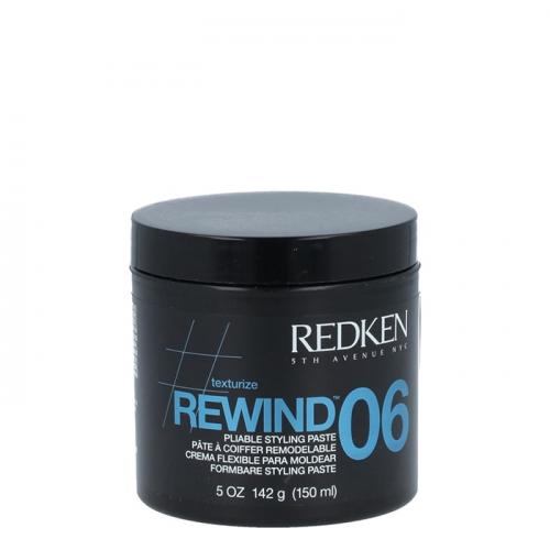 Текстурираща паста със средна фиксация 150 мл Redken Rewind Pliable Styling Paste
