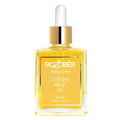 Интензивен нощен еликсир Rozober Extreme Night Oil 30 мл