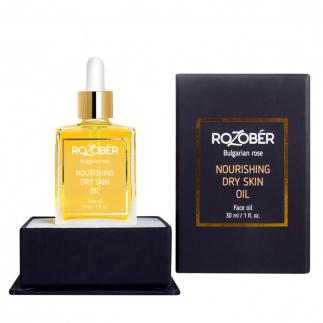 Подхранващ еликсир за суха кожа Rozober Nourishing Dry Skin Oil 30 мл