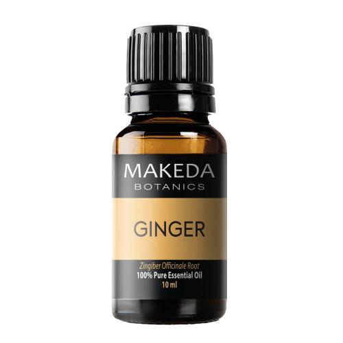 Етерично масло МAKEDA Botanics Джинджифил (GINGER) терапевтичен клас 10 мл