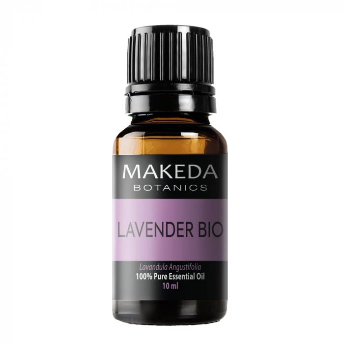 Етерично масло МAKEDA Botanics Лавандула Био (LAVENDER BIO) терапевтичен клас 10 мл