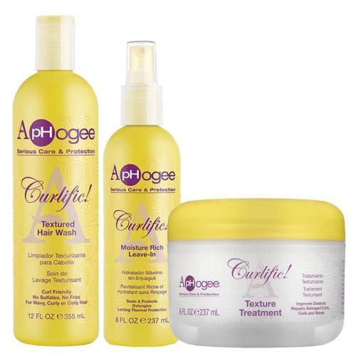 Комплект за термозащита на къдрава коса ApHogee Curlific