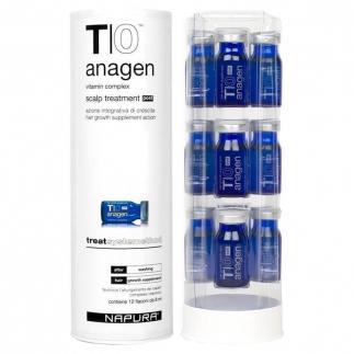 Ампули за растеж на косата NAPURA T|0 Anagen Post 12 бр. х 8 мл