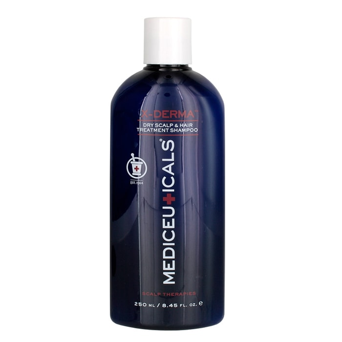 Успокояващ шампоан за сухи коса и скалп Mediceuticals X-Derma 250 мл