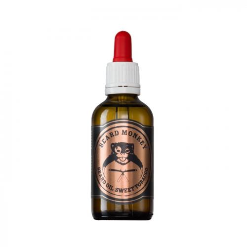 Подхранващо олио за брада с аромат на сладък тютюн Beard Monkey 50 мл