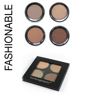 Палитра Bodyography Fashionable, Fierce или Flirty Expression Palette 12 гр