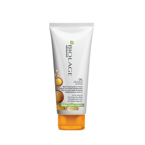 Мултифункционален олио-крем за суха и изтощена коса 200 мл Biolage Advanced Oil Renew
