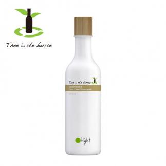 Подхранващ шампоан за боядисана и изтощена коса 250 мл Oright Golden Rose - дърво в бутилка