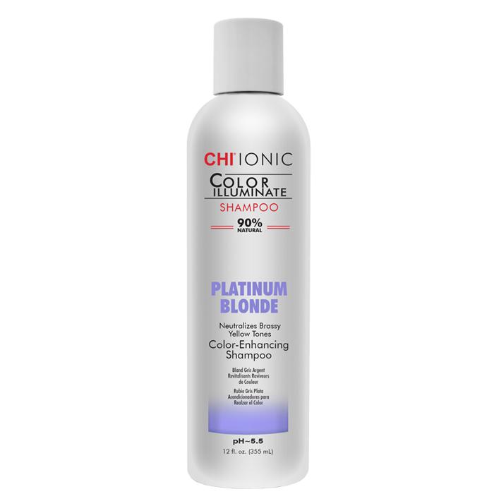 Тониращ шампоан в платинено русо 355 мл CHI Color Illuminate Platinum Blonde Shampoo