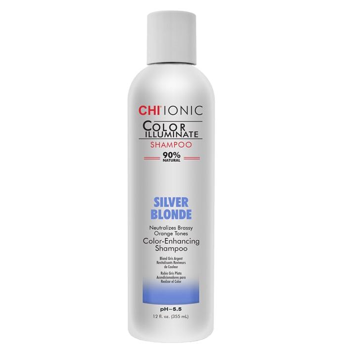 Тониращ шампоан в студено русо 355 мл CHI Color Illuminate Silver Blonde Shampoo