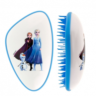 Четка за разресване Dessata Frozen - бяла