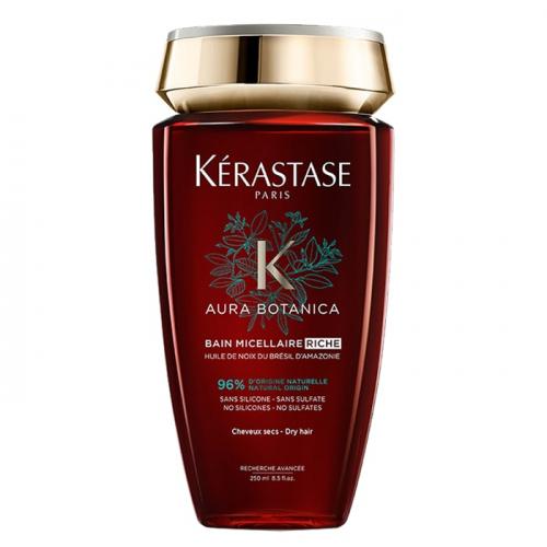 Натурален шампоан за плътна коса 250 мл Kerastase Aura Botanica Bain Micellaire Riche