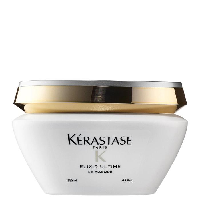 Подхранваща маска с ценни масла за всеки тип коса 200 мл Kerastase Elixir Ultime