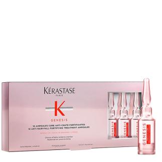 Ампули против косопад 10 бр x 6 мл Kerastase Genesis Ampoules Cure Anti-Chute Fortifiantes