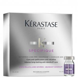 Кутия ампули против пърхот 12 бр. x 6 мл Kérastase Specifique Cure Anti–Pelliculaire