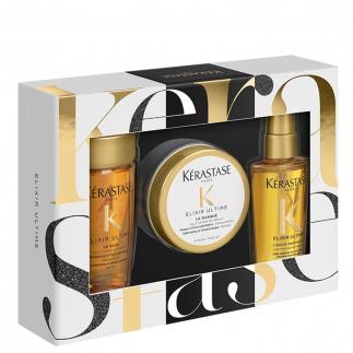 Мини коледен комплект с ценни масла Kerastase Еlixir Ultime