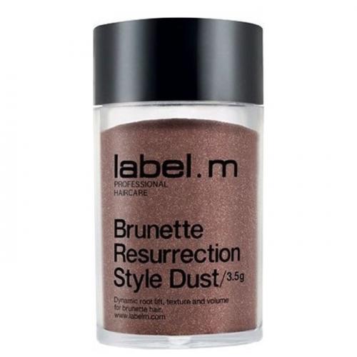 Пудра  за рестилизиране и обем в нюанс за  брюнетки 3.5 гр Label. M Brunette Resurrection Style Dust