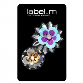 Аксесоар за коса Label.m Floral Drama цветя