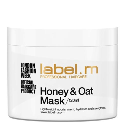 Маска за коса с мед и овес Label.m Honey&Oat Mask 120 мл