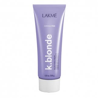 Обезцветяващ крем без амоняк Lakme K. blonde Bleaching Cream ammonia free 200 гр