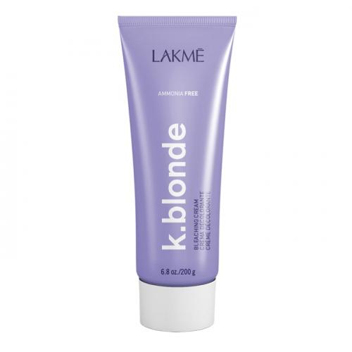 Обезцветяващ крем без амоняк LAKME K.blonde Bleaching Cream ammonia free 200 гр