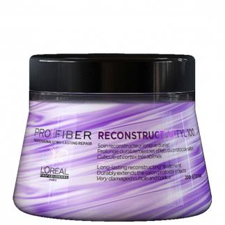 Възстановяваща маска за силно увредена плътна коса Loreal Pro Fiber Reconstruct 200 мл