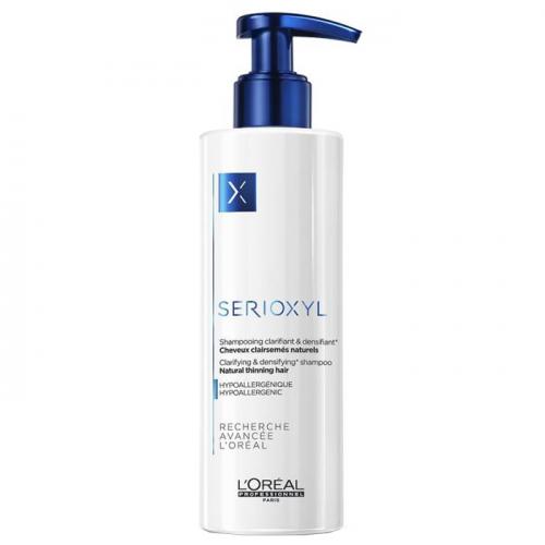Шампоан за изтъняваща, естествена коса L'Oreal Professionnel Serioxyl Natural Thinning Hair 250 мл
