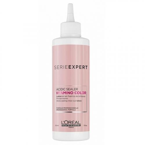 Запечатващ лосион за блясък на боядисана коса 210 мл Loreal Vitamino Color Acidic Sealer