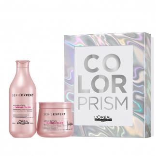 Коледен комплект за боядисана коса Loreal Color Prism