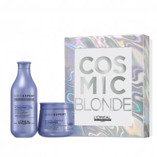 Подаръчен комплект за руса коса Loreal Cosmic Blonde