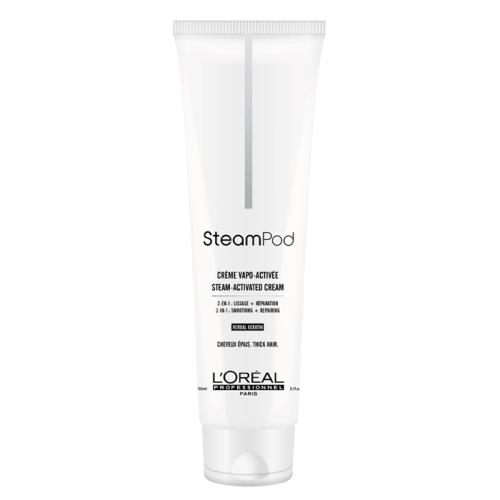 Възстановяващ изглаждащ крем за гъста коса 150 мл Loreal Professionnel SteamPod Cream de Lissage