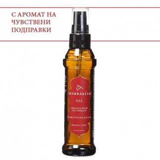 Еликсир с конопено и арганово масло 60 мл Marrakesh Oil Hair Styling Elixir Original