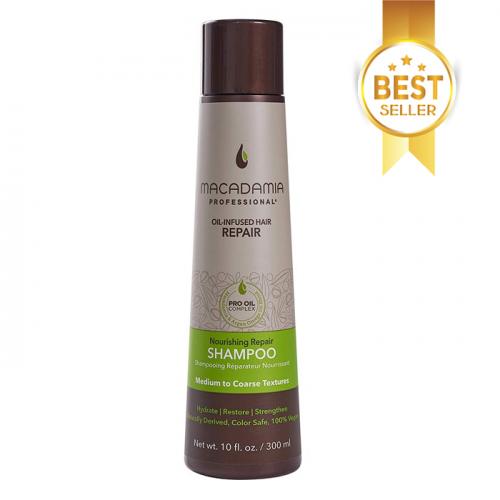 Шампоан за възстановяване на изтощена средна до плътна коса 300 мл Macadamia Nourishing Repair