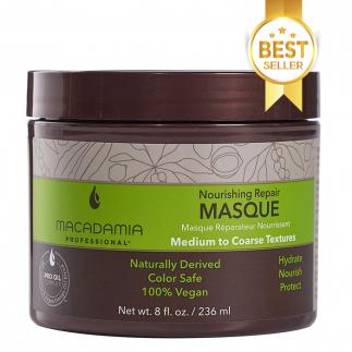 Маска за възстановяване на изтощена средна до плътна коса 236 мл Macadamia Nourishing Repair
