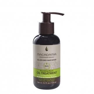 Възстановяващо олио с макадамия и арган за средна до плътна коса 125 мл  Macadamia Nourishing Repair Oil Treatment