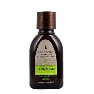 Възстановяващо олио с макадамия и арган за средна до плътна коса 27 мл Macadamia Nourishing Repair Oil Treatment