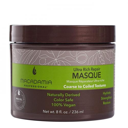 Маска за възстановяване на изтощена плътна коса  236 мл Macadamia Ultra Rich Repair