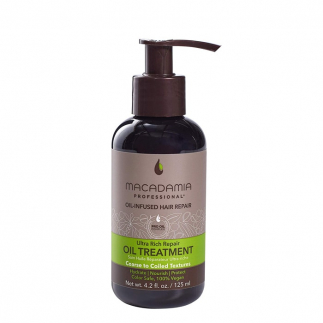 Възстановяващо олио с макадамия и арган за плътна коса 125 мл Macadamia Ultra Rich Repair