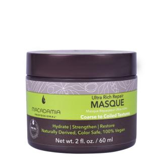 Маска за възстановяване на изтощена плътна коса 60 мл Macadamia Ultra Rich Repair