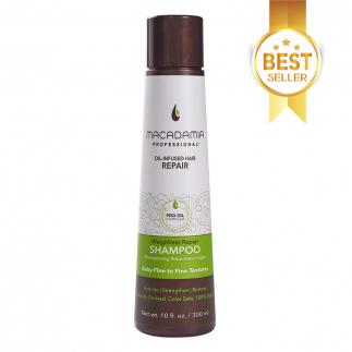 Шампоан за възстановяване на изтощена тънка коса 300 мл Macadamia Weightless Repair