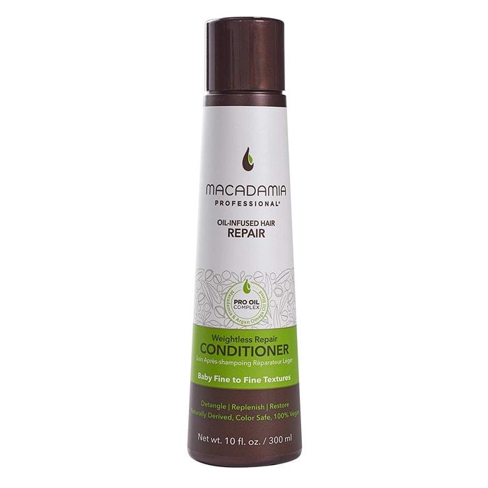 Балсам за възстановяване на изтощена тънка коса 300 мл Macadamia Weightless Repair