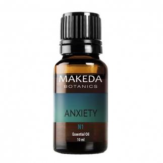 Композиция за ароматерапия против тревожност Мakeda Anxiety N1 10 мл