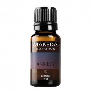 Композиция за ароматерапия против тревожност Мakeda Anxiety N2 10 мл