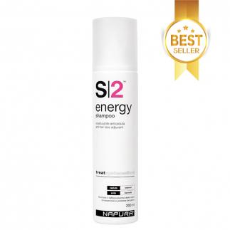 Шампоан против силен косопад за нормална коса NAPURA S|2 Energy 200 мл