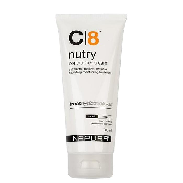 Крем балсам за суха коса с протеини и масло от авокадо 200 мл NAPURA C 8 Nutry