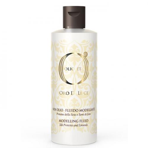Флуид за оформяне с масло от ленено семе  200 мл Olioseta Oro Di Luce