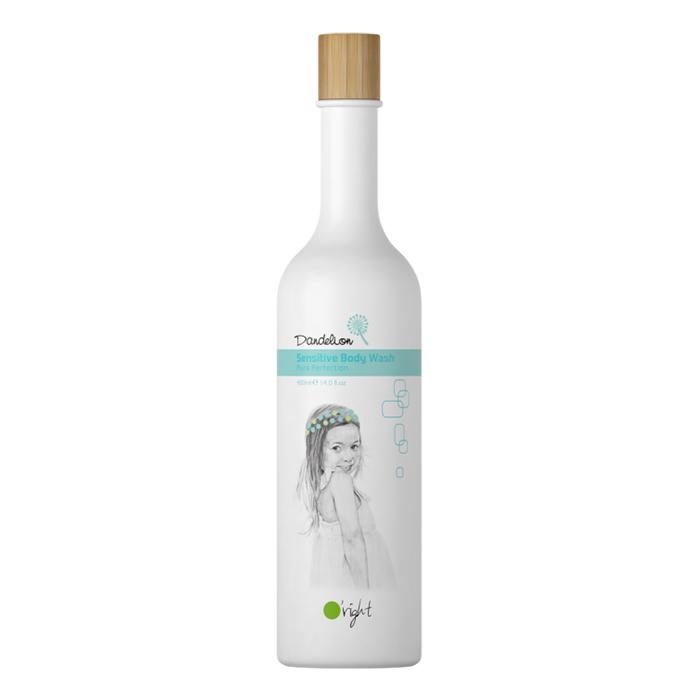 Органик душ гел за деца и чувствителна кожа Oright Dandelion Sensitive Body Wash 400 мл